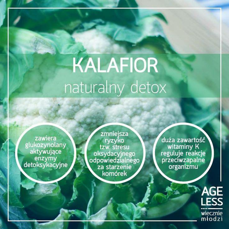 Kalafior to świetny dodatek do wielu domowych obiadów – smakuje także wyśmienicie sam, bez towarzystwa! :) Ale czy wiedzieliście, że ma tak pozytywny wpływ na Wasz organizm? #kalafior #ageless #wiecznamlodosc #wieczniemlodzi #detoks #zdrowie www.ageless.pl