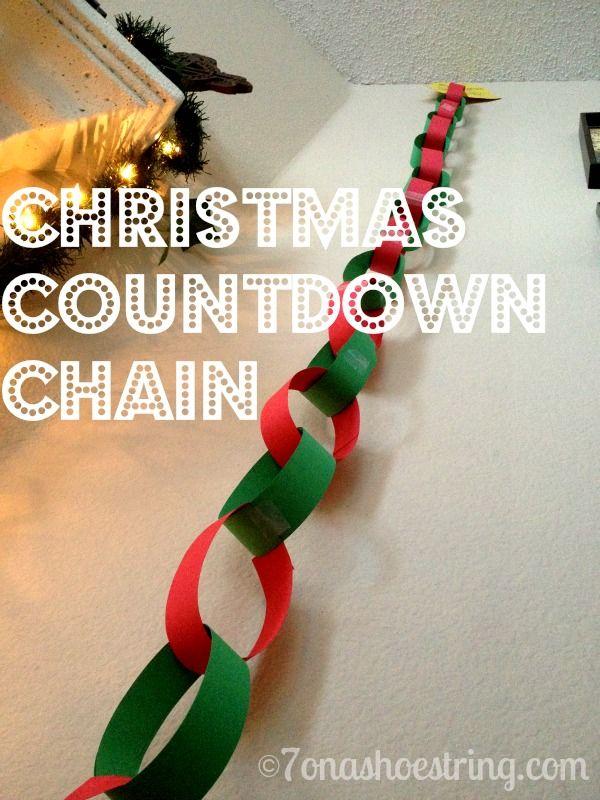 Christmas Countdown Chain                                                                                                                                                                                 More