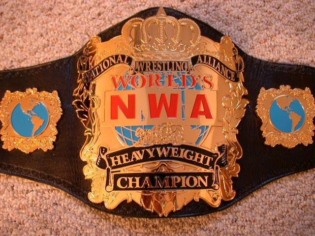 dan severn_A NWA Title | NWA/WCW World Heavyweight Wresting Title Belt | Pinterest