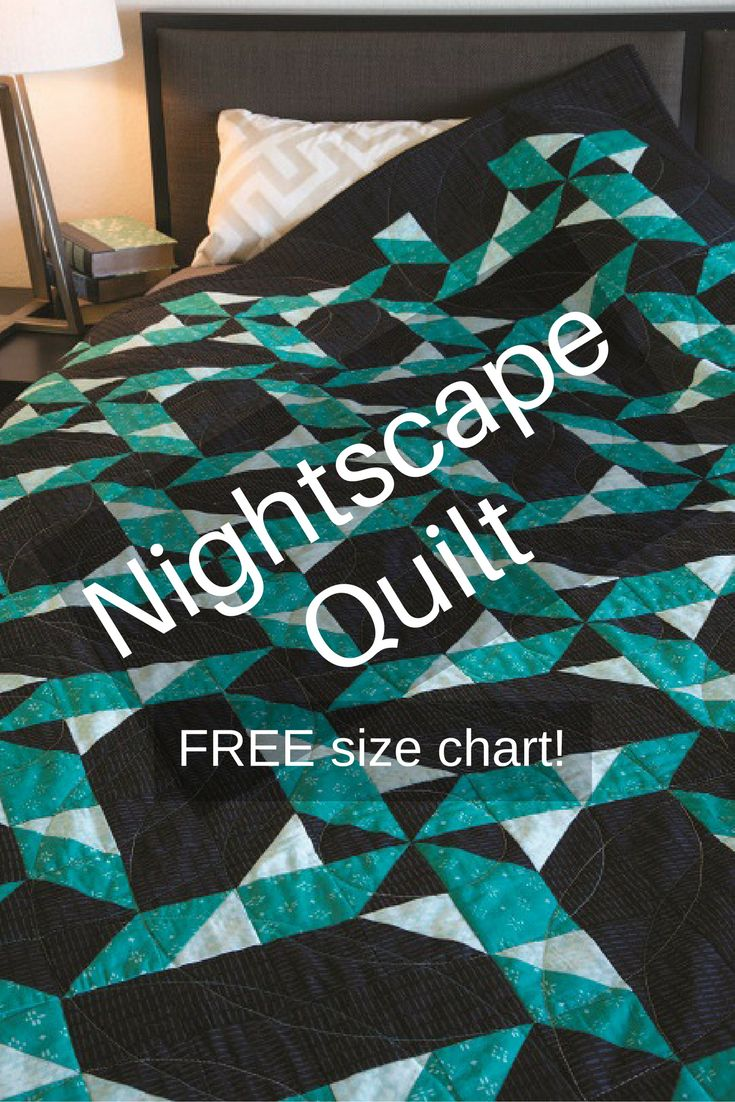 17 best Free Size Charts images on Pinterest   Quilting ideas, Bed ...