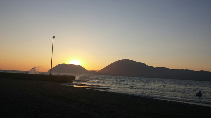 Sunset in Rio, Patras