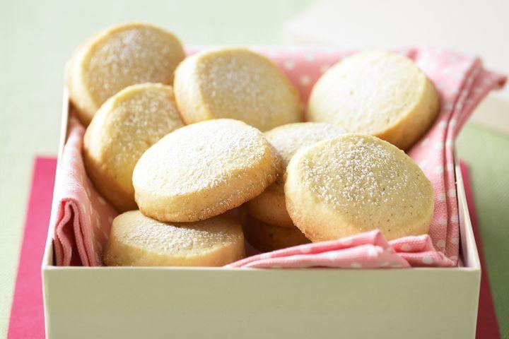 Vanilla freezer biscuits