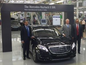 Mercedes-Benz Maybach S500 to be locally assembled