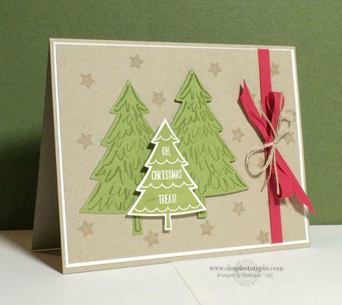 2015   Peaceful Pines Photopolymer Stamp Set139728 Price: $26.00,  Perfect Pines Framelits Dies139665 Price: $27.00