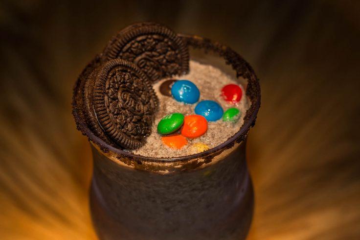 Oreo's milkshake! choclate