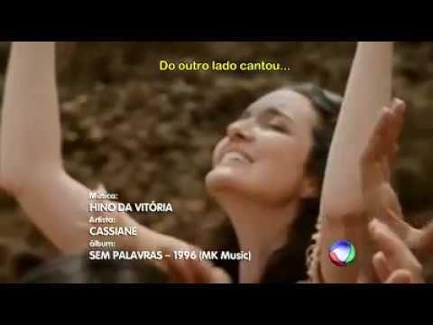 MUSICA HINO DA VITÓRIA CANTORA CASSIANE SEM PALAVRAS - OS DEZ MANDAMENTO...