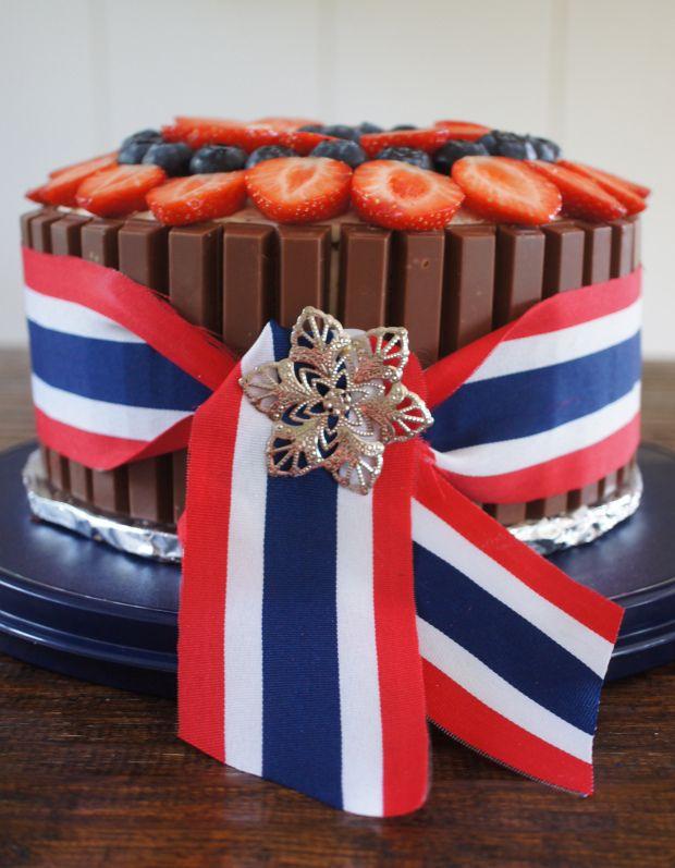 17 maj tårta