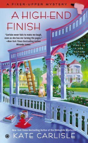 A High-End Finish: A Fixer-Upper Mystery by Kate Carlisle, 11-14 http://www.amazon.com/dp/B00JJXV8DC/ref=cm_sw_r_pi_dp_ASGPtb1E1ZSP6