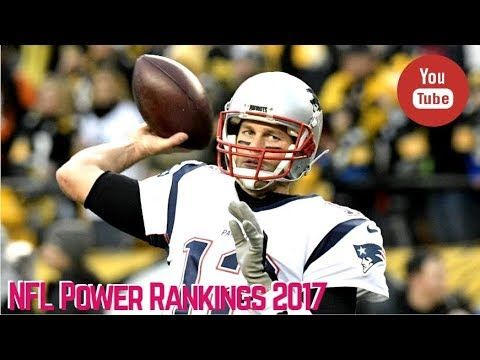 NFL Power Rankings 2017 Week 16 Movers & Shakers Include Patriots, Eagle...