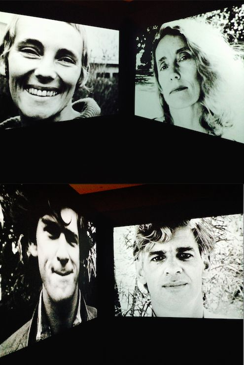 Faces 1976-96 SUE FORD, BEN FORD, black and white 16mm film transferred to DVD, silent, 13 mins