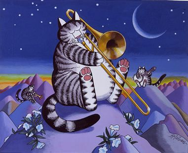 Moonlight Serenade by B. Kliban