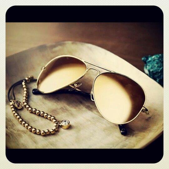 GlamRock Aviatorglasses by Michael Kors. #glamrock #fashion #fashionista