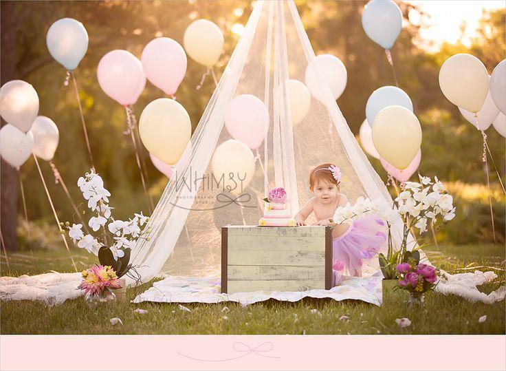 Baby Caroline | Cake Smash | Syracuse Baby Photographer » Whimsy Photography Studio