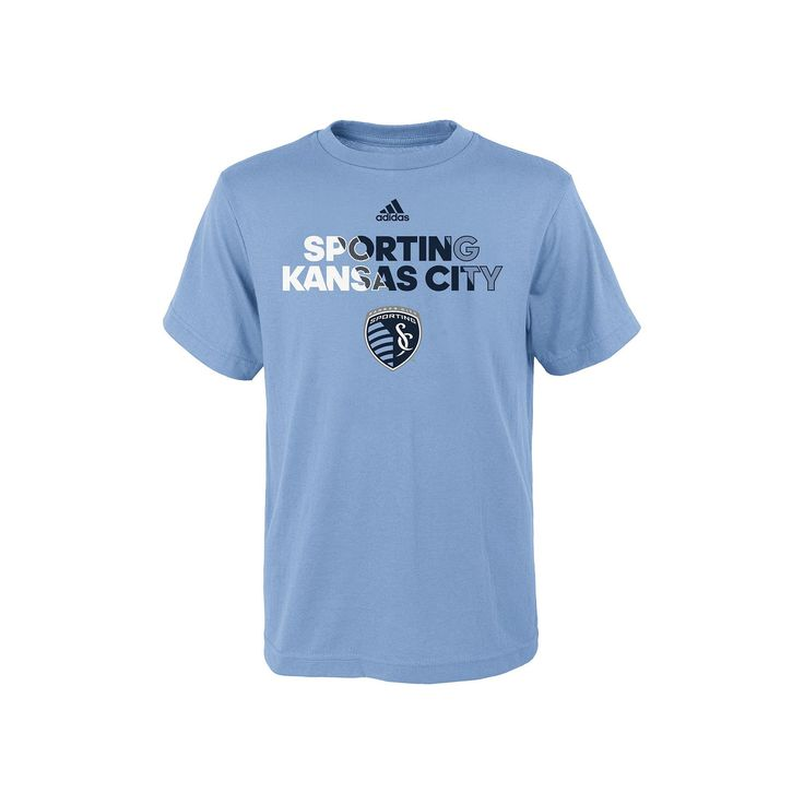 Boys 8-20 Adidas Sporting Kansas City Striker Tee, Boy's, Size: Xl(18/20), Ovrfl Oth