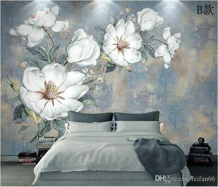 Custom Flowers Wallpaper 3D, Retro Rose Murals For The Living Room Bedroom TV Background Wall Waterproof Papel De Parede Pc Desktop Wallpaper Pc Wallpaper From Feifan66, $27.14| DHgate.Com