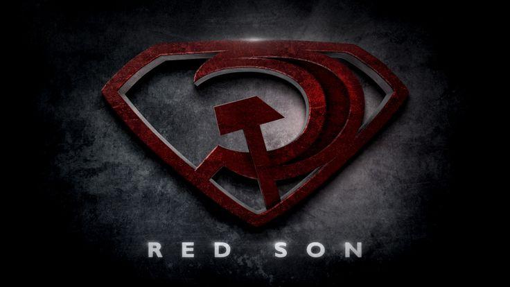 Red Son logo by Beloeil-Jones   DC   Pinterest   Man Of ... Red Son Justice League