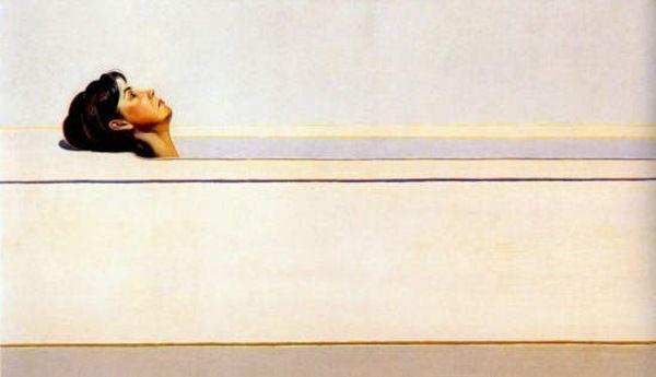 Wayne Thiebaud, Woman in Tub