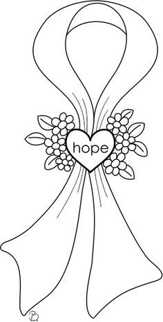 breast cancer awareness coloring pages for kids | 13 best images about Relay - Coloring Pages on Pinterest ...