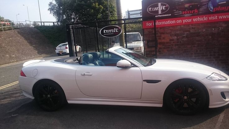 Yesterdays fitting of a Jaguar XK R with a new Tunit Optimum: • 510 HP to 536 HP • 461 lbs/ft of Torque to 484 lbs/ft • Fuel Savings • Self or Dealer Fit  01257 274100 info@tunit.com www.tunit.com for more details