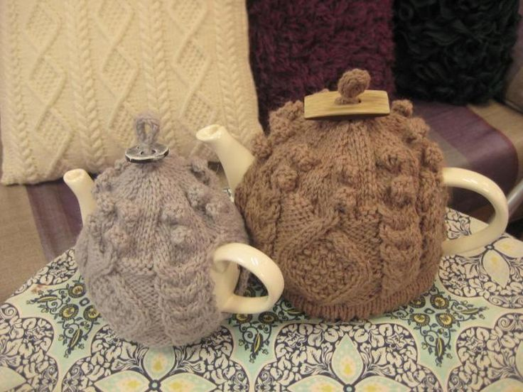 Little and Large Aran Tea Cosy Pattern | Craftsy
