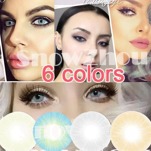 Find the qualified 1pair=2pcs/amazing new colors/world contact lenses/6 colors/wholesale color contact lenses/dhl shipping/recognized comsmetic contact lenses best color contact lenses best contact lens big eye contact lenses by snowzhou from the Chinese online seller DHgate.com with fast delivery.