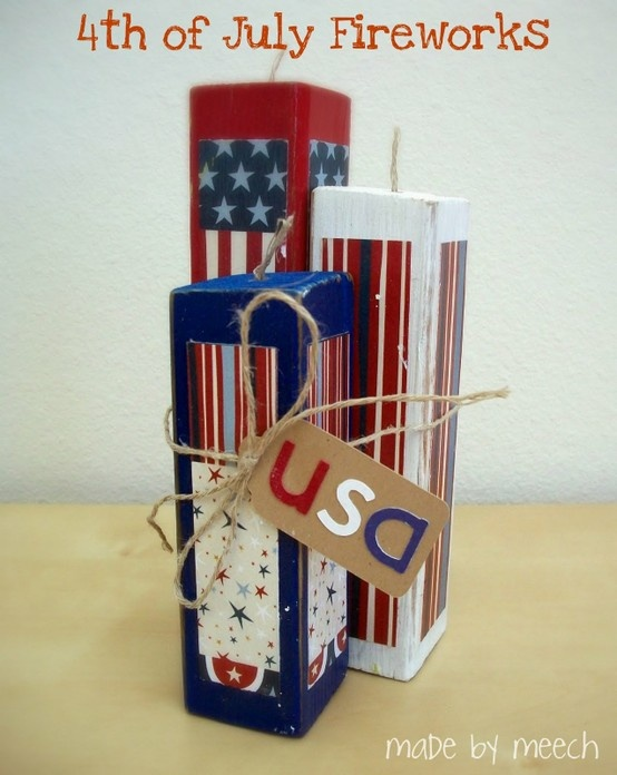 how to make paper firework decorations