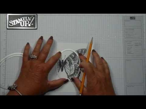 Out of the Box technique with Dawn - YouTube video ... great video with a gorgeous butterfly card ...