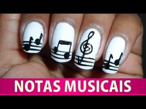 Unhas de Notas Musicais - YouTube