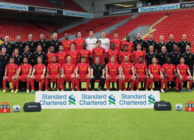 The Liverpool Football Club 2013-14 squad #LFC