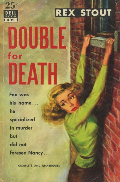 Image result for double for death pulp cover