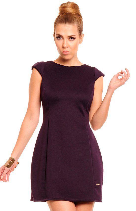 Lemoniade Katia sukienka śliwka Niezwykle kobieca sukienka idealna na wiele okazji