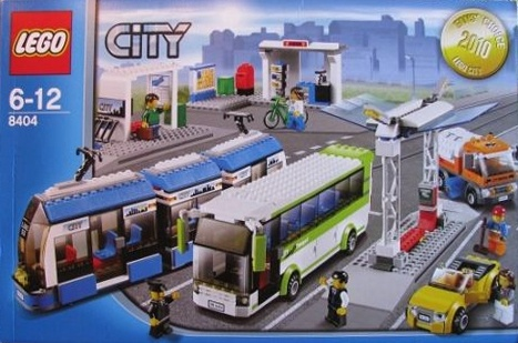 8404 Public Transport Lego New Town City in Hand
