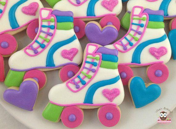 Roller Skate Cookies by Whoosbakery on Etsy
