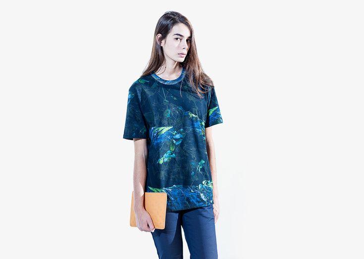 Carhartt WIP / woman alover floral print t-shirt / dámské tričko s celopotiskem – rostlinný vzor  #carhartwip #tshirt #triko #tricko #floral #alover #print
