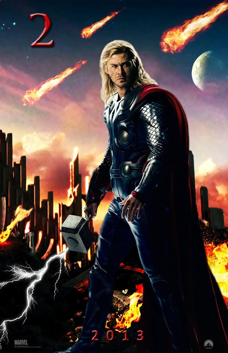 thor 2 movie poster by dcompdeviantartcom on deviantart