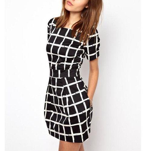 The Fashion Gorgeous dress black fur Summer outfits Teen fashion Cute Dress Herfavori