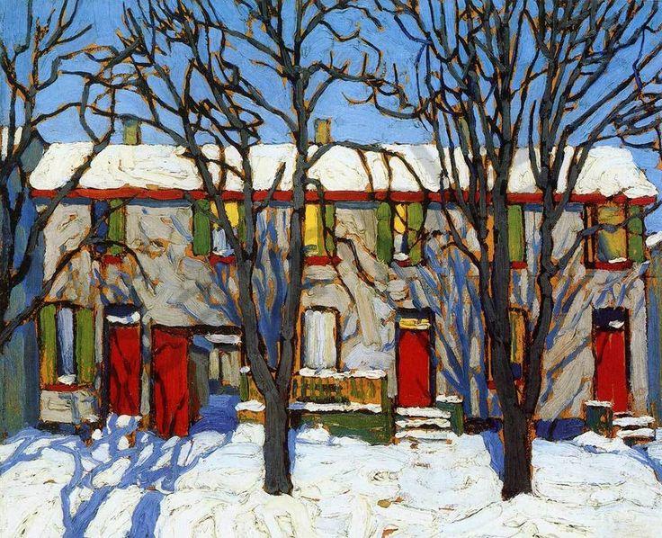 www.artcountrycanada.com images harris-lawren-the-Red-Doors.jpg