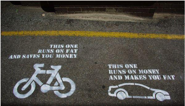 Bicycle vs. Car