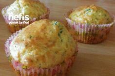 Kahvaltılık Muffinler Tarifi