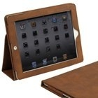 ipad 2 leather caseSnuggly Ipad, Quality Leather, Flip Stands, Brown Leather, Leather Cases, Elastic Hands, Cases Covers, Automatic Wake, Fibre Interiors