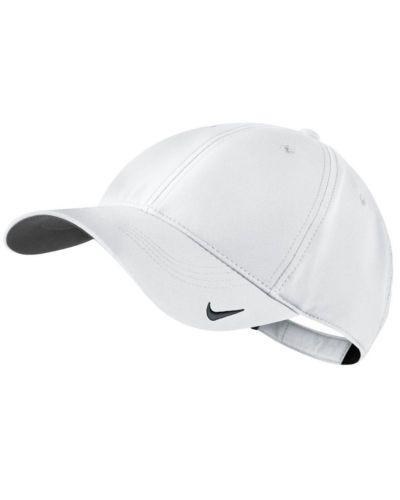 White-Nike-Unisex-Golf-Tech-Blank-Cap-NK226-Lightweight
