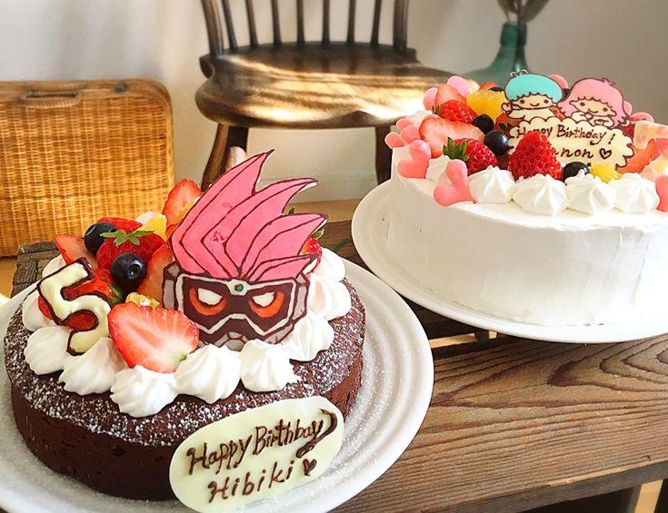 えり's dish photo キャラクターバースデーケーキ | http://snapdish.co #SnapDish #キャラクター #ケーキ #お誕生日 #スイーツ祭り2017バレンタイン