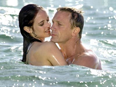 Eva Green and Daniel Craig in the 2007 Bond remake of 'Casino Royale'