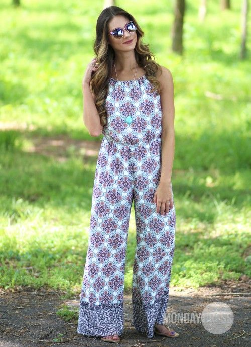 Sunny and Sweet Jumpsuit in Salmon   Monday Dress Boutique