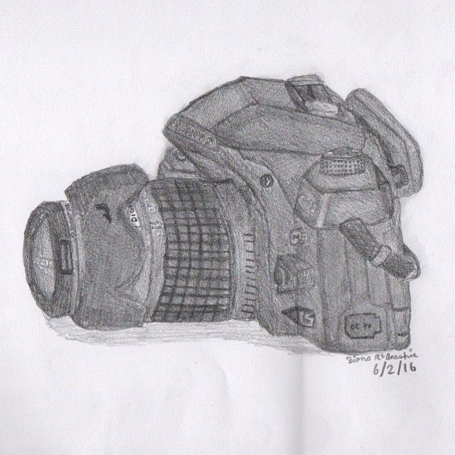 Camera drawing @fionamcanespie Instagram