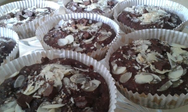 Kakaovo-pomarančové muffiny sladené medom (fotorecept) - Recept