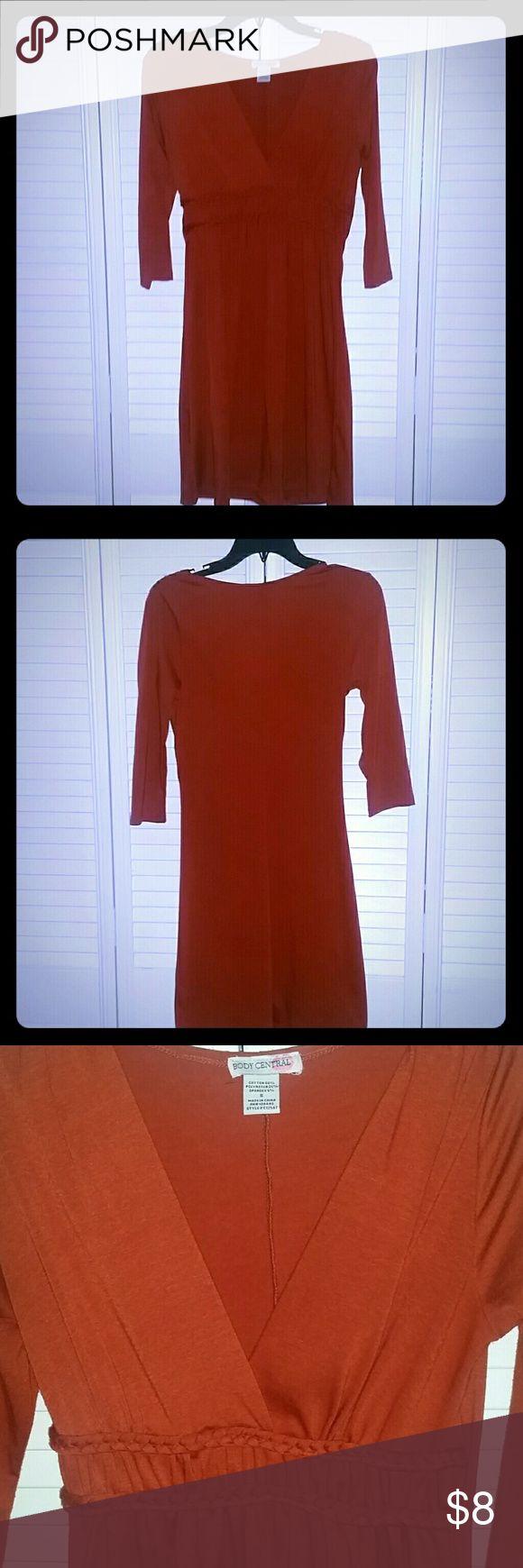 Body Central Dress Body Central burnt orange dress. Body Central Dresses