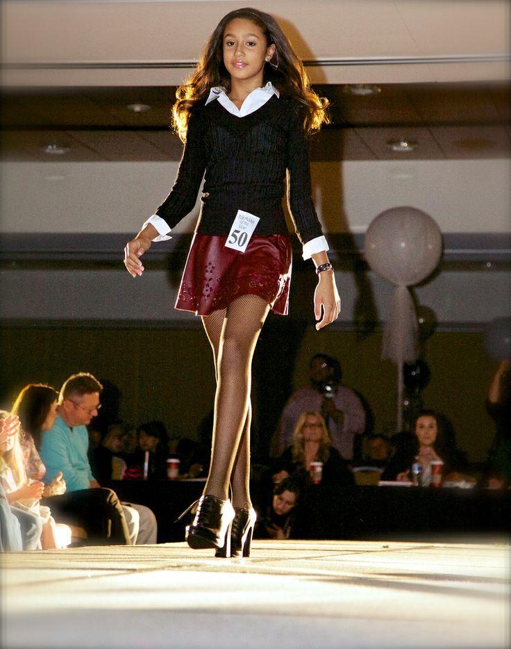 coming off the runway child model magazine top model. Black Bedroom Furniture Sets. Home Design Ideas