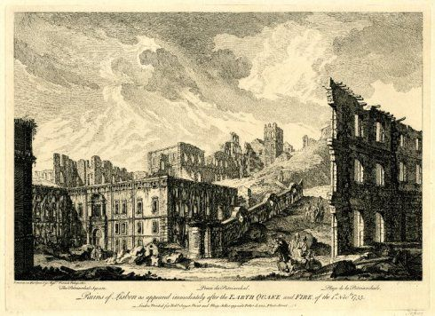 ... Lisbon immediately after the Earthquake and Fire of 1 November, 1755
