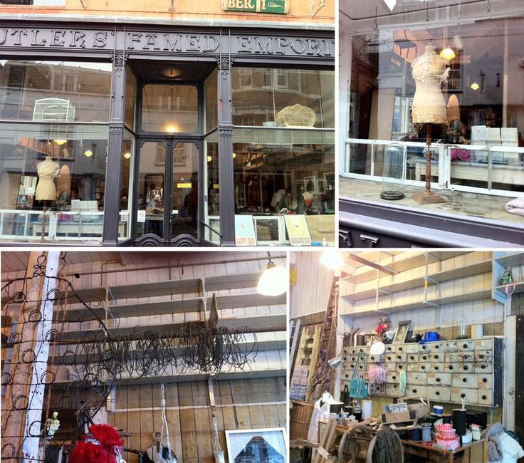 Butlers Emporium    old and new in george street  hastings. 17 Best images about Antique centres without brown furniture on